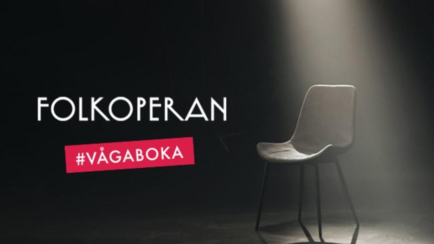 En bokad biljett idag kan rädda en opera eller teater i morgon. #vågaboka.  Foto: Folkoperan.