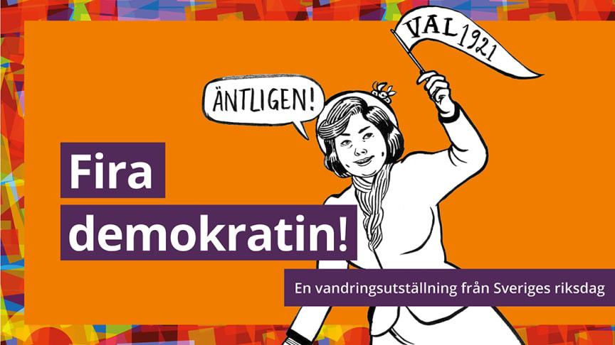 """Utställningen """"Fira demokratin!"""" kommer till Malmö Museer"""