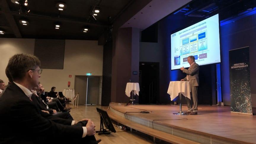 15 maj arrangerades den internationella konferensen Industrial Interoperability Summit