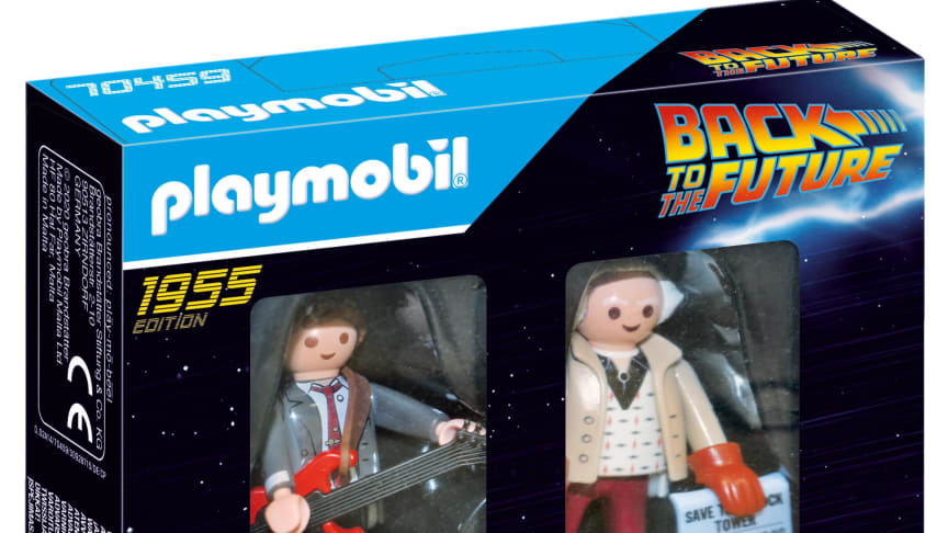 Back to the Future Marty McFly und Dr. Emmet Brown (70459) von PLAYMOBIL_Verpackung