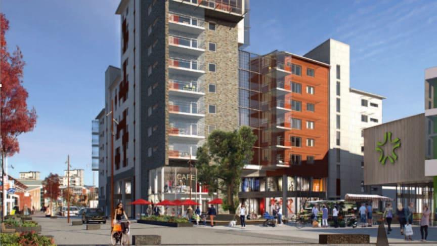 Klart med vårdcentral och BVC till Riksbyggen i Partille