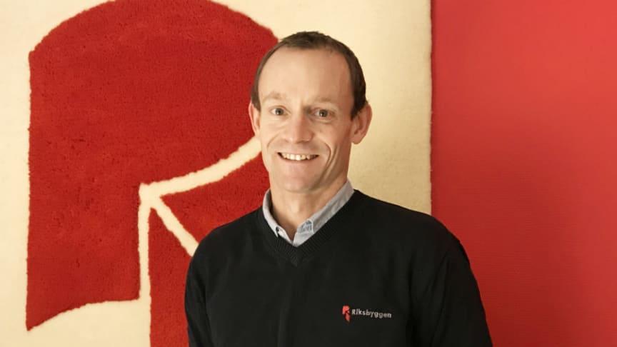 Johan Sundlöf ny marknadsområdeschef för Riksbyggen Ombyggnad Väst