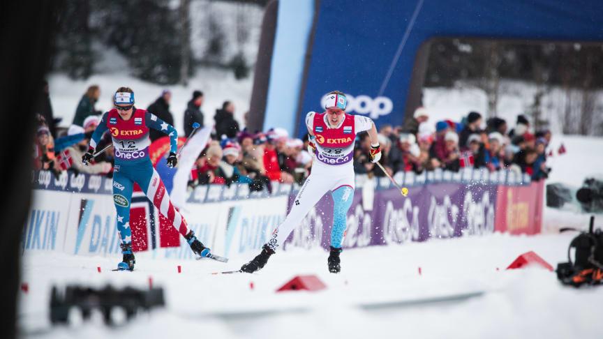 Team Norconsult i aksjon under NM på Konnerud. (Foto: Eirik Andreas Mortensbakke)
