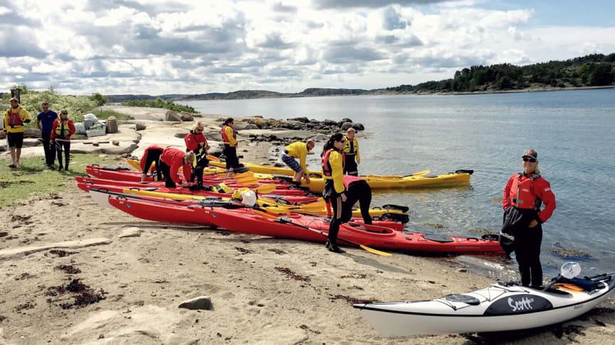 Starta upp med en aktivitet! Bilden är från vår partner TanumStrand i Grebbestad.