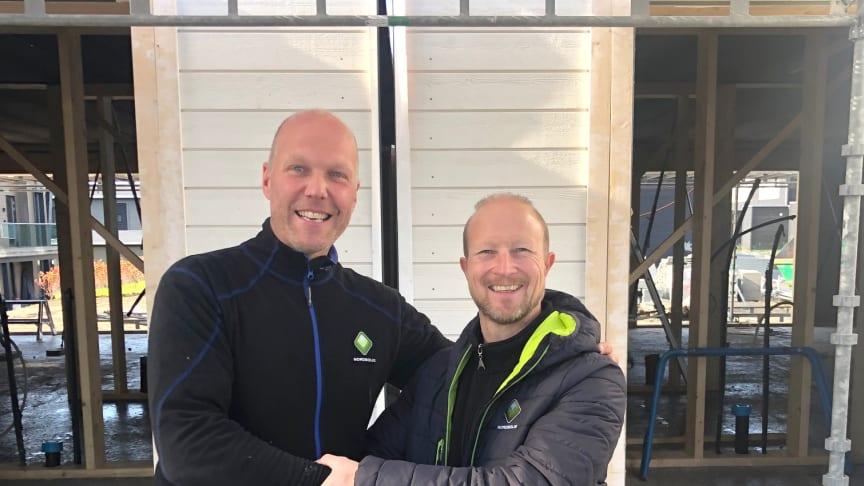 Geir og daglig leder i Nordbolig Hamar, Trond Olav Horten
