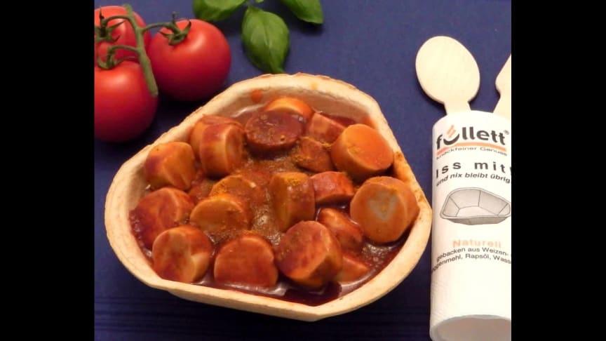 Füllett, bio-vegan gebackene Schalen für den Cateringbedarf