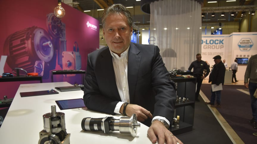 Fredrik Falkenström, CEO OEM Motor bjuder till personliga möten under Elmia Subcontractor.