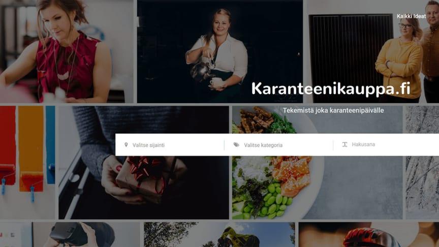Kehy on avannut karanteenikauppa.fi -sivuston paikallisten yritysten myynnin tueksi