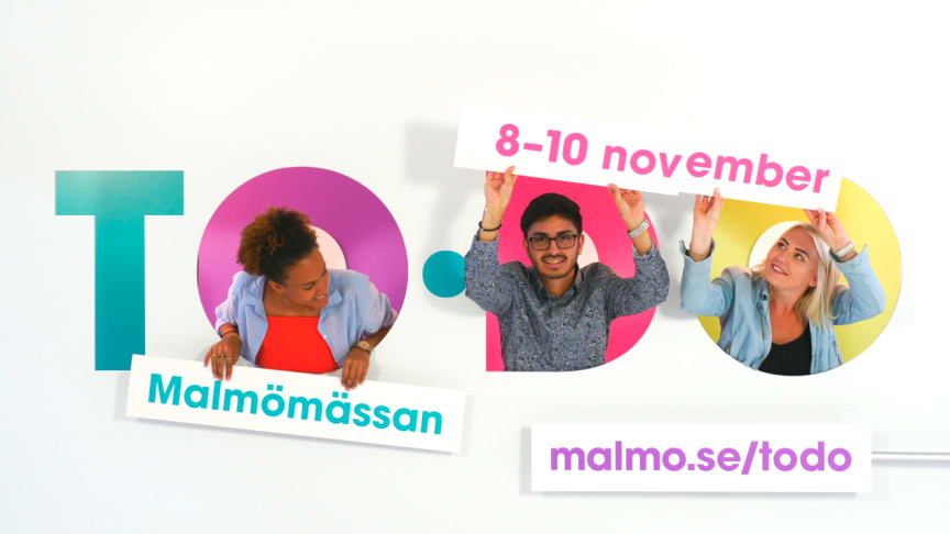 TODO-mässan 2018 pågår 8-10 november. FOTO: © Malmö stad, Frasse Franzén