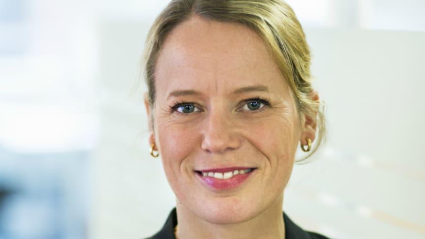 Lina Öien tillträder som chef för enheten för hållbar utveckling på Riksbyggen den 1 oktober.