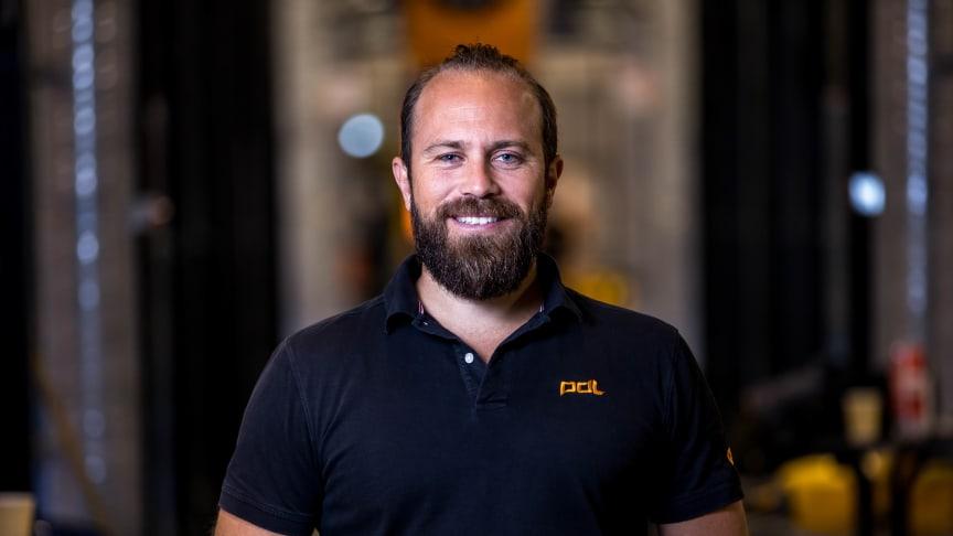 Henrik Söderberg, vd på PDL Group.