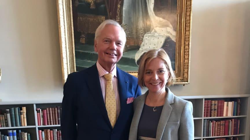 Carl Jan Granqvist och Karin Bodin