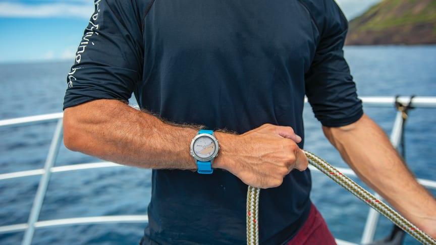 quatix 6 - för dig med en aktiv livsstil både på vattnet och på land