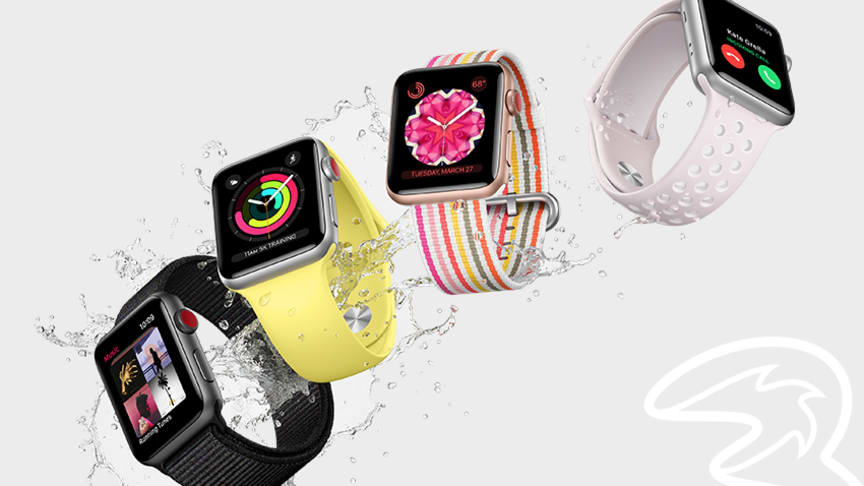 Apple Watch Series 3 finns nu till försäljning hos Tre