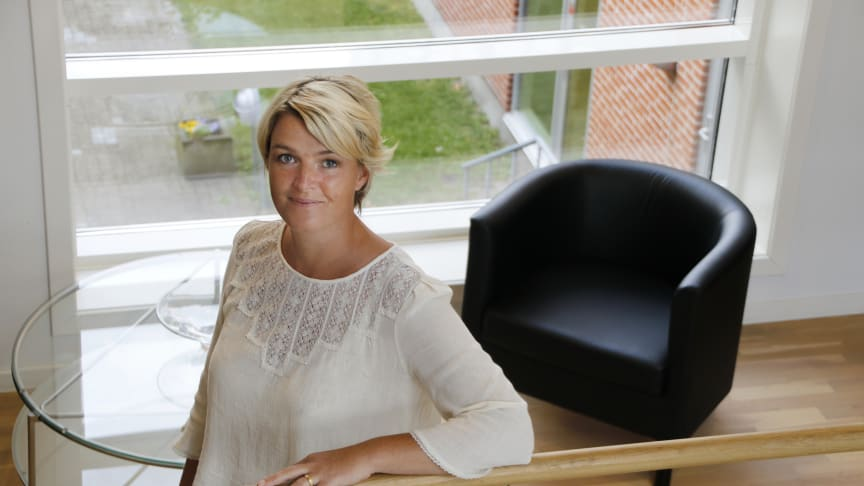 Administrerende direktør i Forenede Care Stine Louise Eising von Christierson glæder sig til at præsentere planerne for det nye, innovative rehabiliteringscenter, som får til huse i Ringsted.