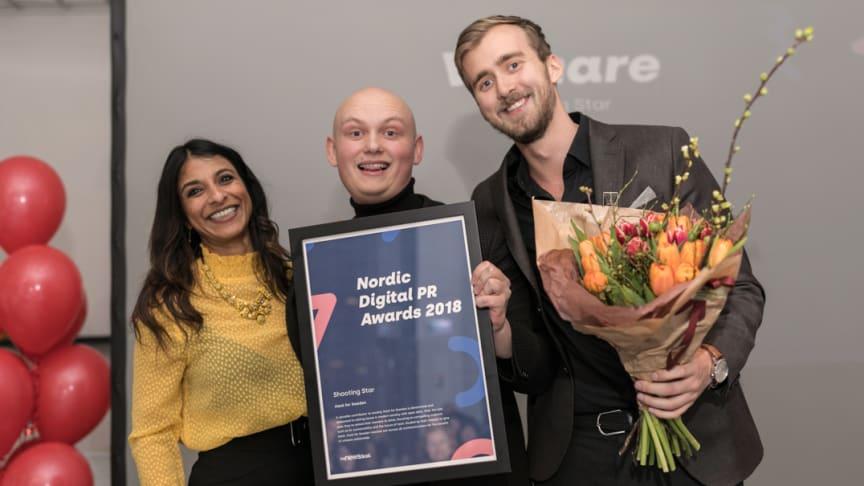 Nordic Digital PR Awards -voittajat on valittu