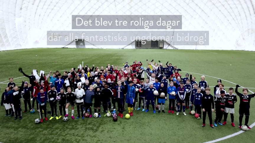 Team ThorenGruppens fotbollsskola gav tre dagar av lycka