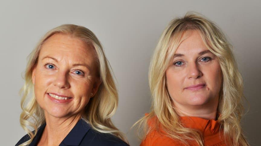 Camilla Sjöberg och Eva-Marie Andersson