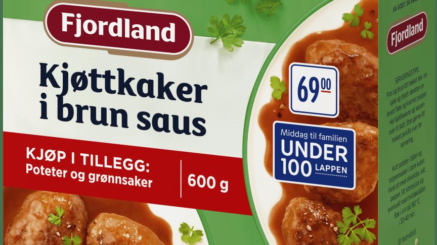Fjordland komponenter Kjøttkaker i brun saus