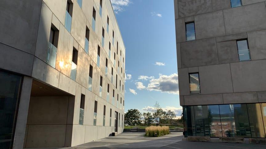 """Einar Mattssons prisade plusenergihus på KTH Campus får """"Miljöbyggnad Guld"""""""