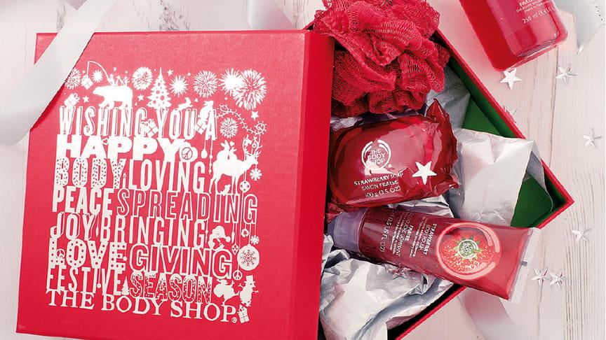 Julens gåvor kommer från The Body Shop