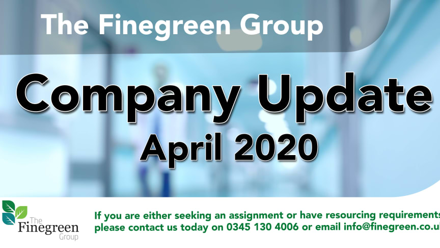 ​The Finegreen Group Company Update - April 2020