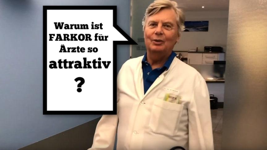 Dr. Berndt Birkner, Gastroenterologe und ärztlicher Fachberater für FARKOR