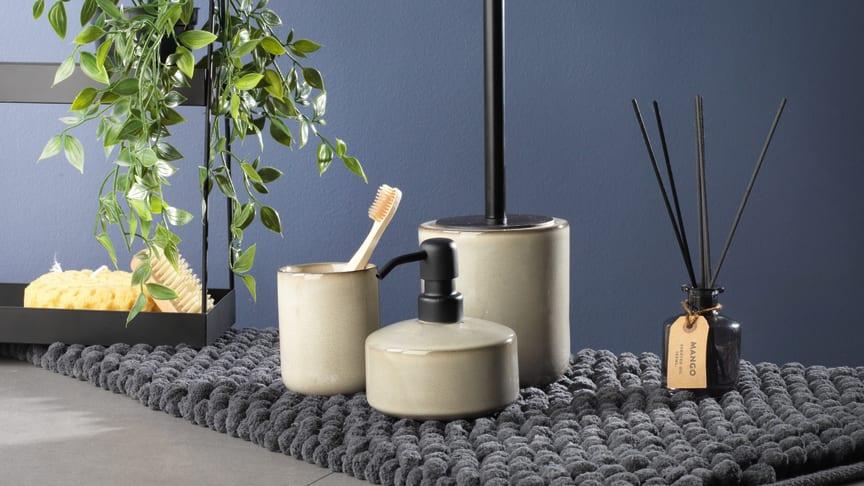 Kylpyhuonematto NORBERG ja KISA kphtarvikkeet