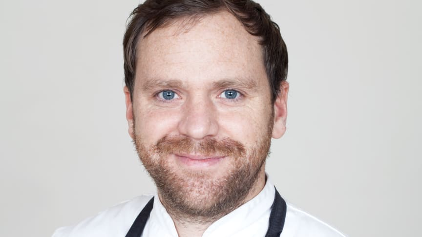 Niklas Pallgren, köksmästare Kämpasten. Foto: Bianca Brandon-Cox