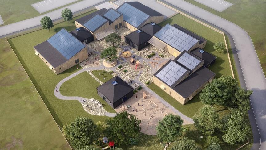 Obos lanserar Svanenmärkt och klimatoptimerad förskola