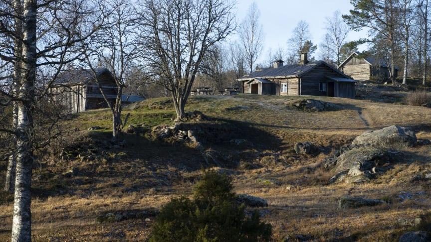 Ritamäki finngård, Torsby kommun. Foto: Lars Sjöqvist/Värmlands Museum.