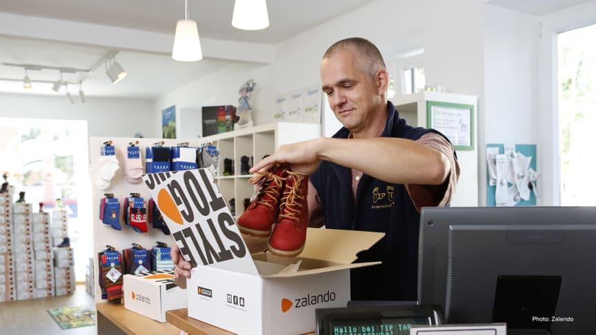 Centiro och Zalando i samarbete för att stötta lokala handlare under coronakrisen