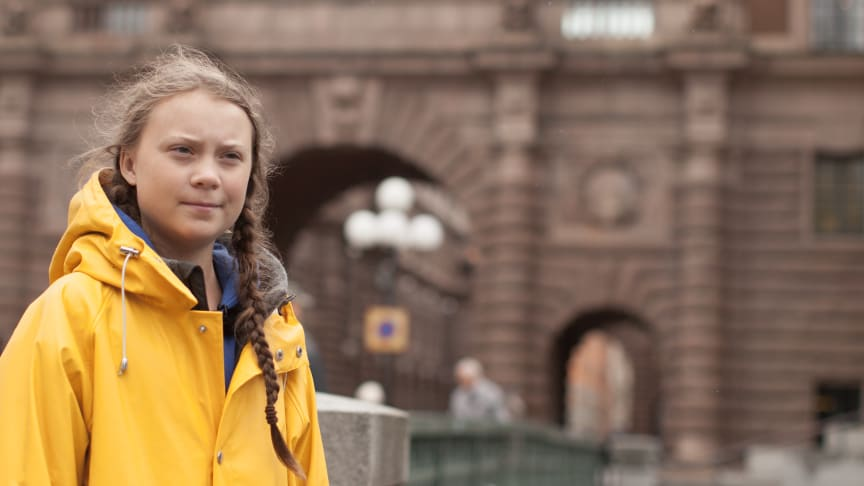Greta Thunberg uppmanar sina följare att stötta UNICEF i kampen mot corona-pandemin