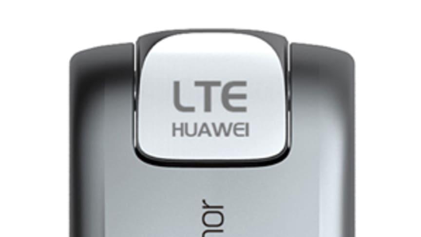 Telenor och Huawei visar nytt 4G-modem
