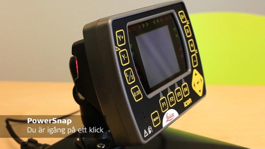 PowerSnap med maskinsdator iCP31 - Du är igång på ett klick