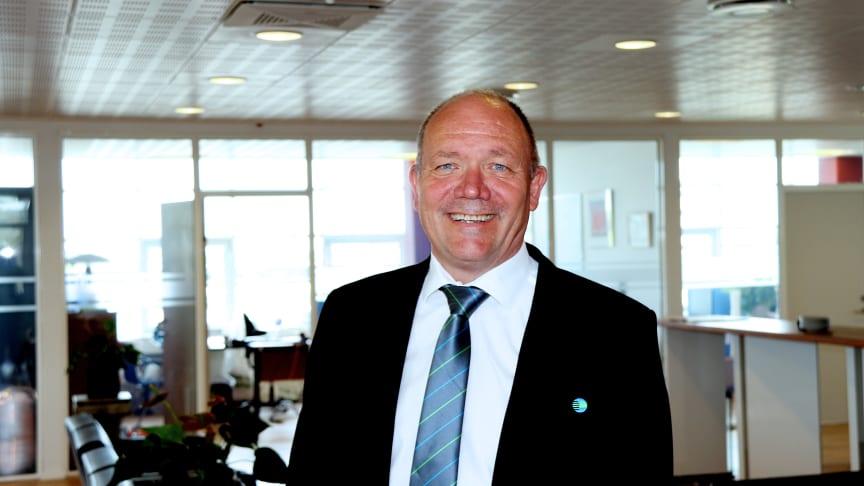 Vicedirektør i Forenede Service Ejnar Olsen fylder 60 år. Foto: Jeanette Lagrelius.