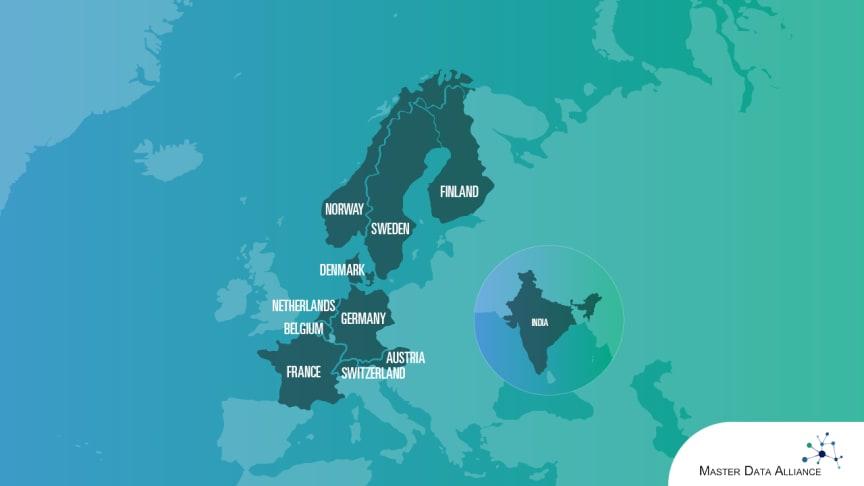 """Fyra IT-konsultföretag inom MDM och PIM i Europa har bildat """"Master Data Alliance"""". Det är ett unikt samarbete som erbjuder lokal närvaro i 11 länder och på 6 språk."""