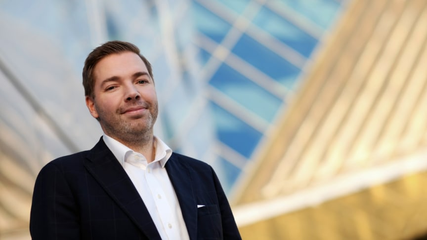 Lasse Waagbø, ny direktør for Clarion Hotel Trondheim  (Foto: Anne Lise Haugen)