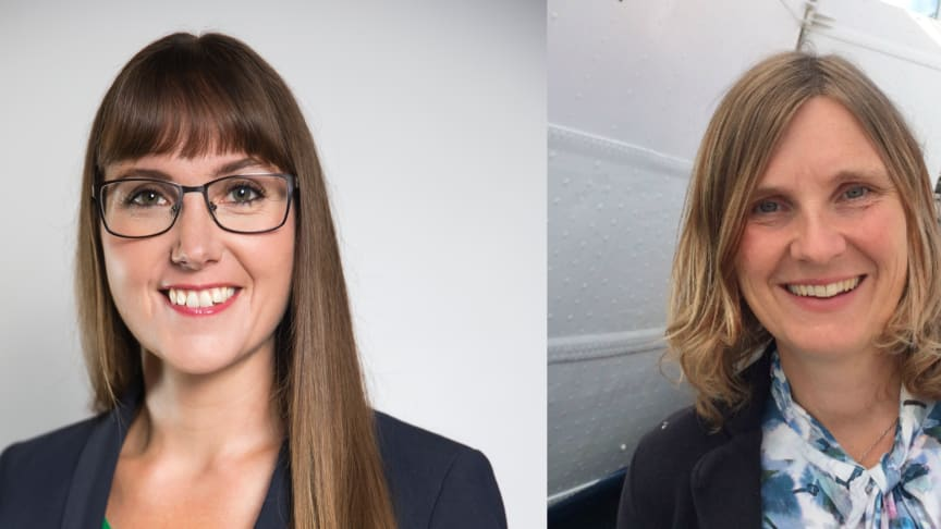 Johanna Ode, bostadspolitisk expert och verksamhetsutvecklare och Mari-Louise Persson, energistrateg Riksbyggen.
