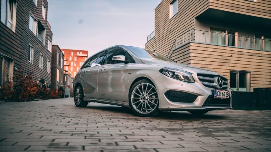 Gør et kup på Mercedes-Benz B-Klasse