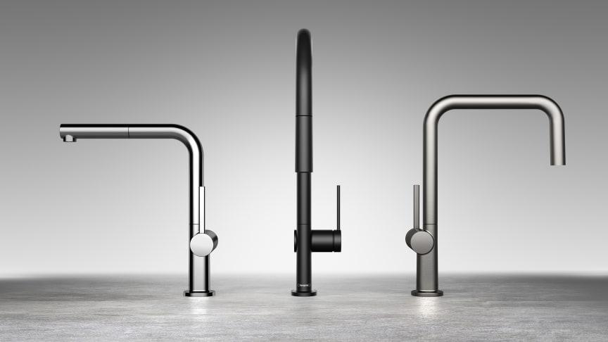 Uusi Talis M54 keittiöhanamallisto – Minimalistinen joka kulmasta