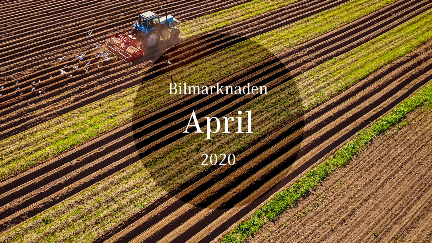 Bilmarknaden april 2020