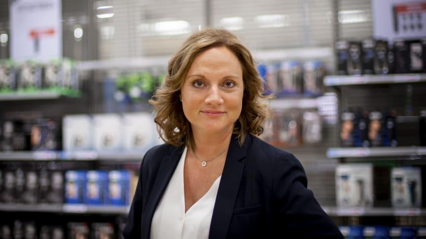 – Målet er selvsagt å levere en shoppingopplevelse i toppklasse for våre kunder. Hele organisasjonen samler seg for å sørge for at våre kunder føler seg godt ivaretatt, oppsummerer Susanne Holmström, VD for NetOnNet.