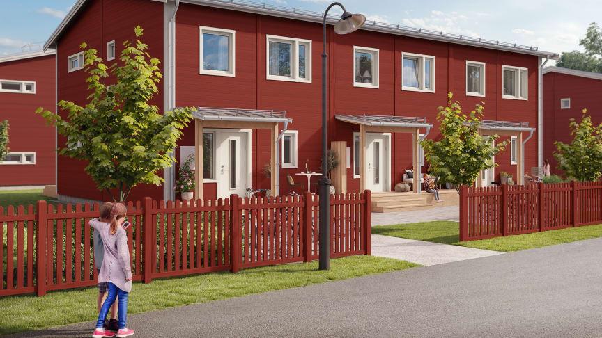 Äkta Bullerby-känsla är vad Brf Allén i Gammelstad står för.