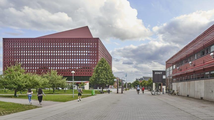 Studenthuset Campus Valla i Linköping vinner Årets Bygge