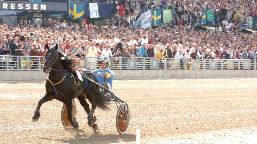 Järvsöfaks och Jan-Olov Persson vinner Elitkampen 2005. Foto: Thomas Blomqvist / TR Bild