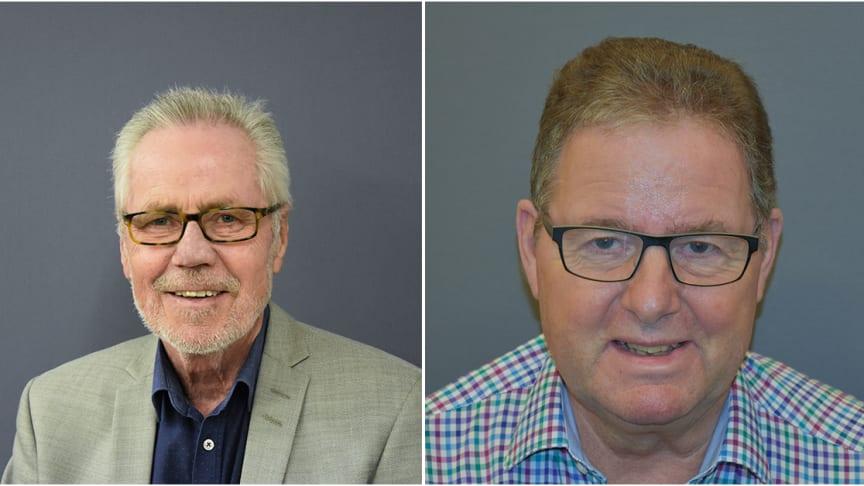 Fra venstre; John Schultz og Niels Nielsen