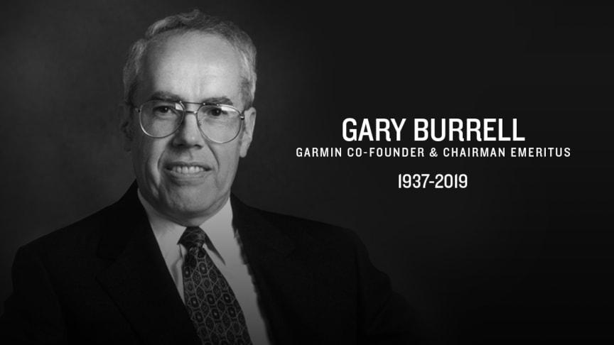 Gary Burrell – medgrundare av Garmin® har gått bort