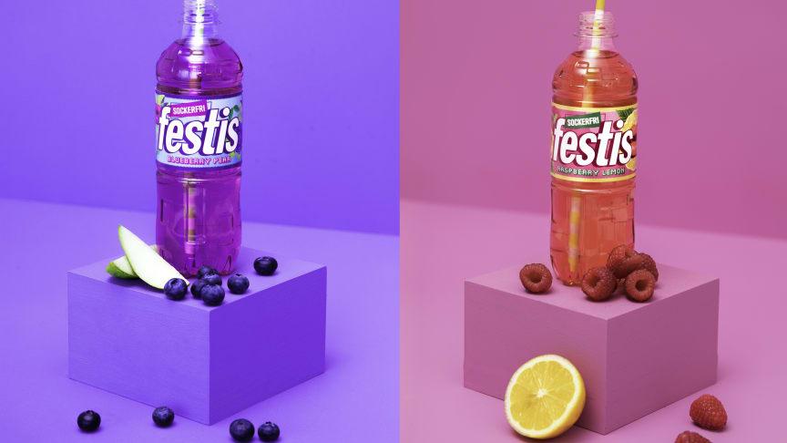 Äntligen lanserar Festis sockerfria smaker – säg hej till Raspberry Lemon och Blueberry Pear!