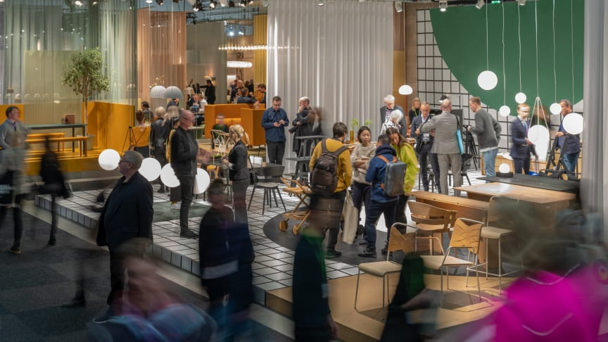 Stockholm Furniture & Light Fair celebrates its 70th anniversary with the latest in Scandinavian design